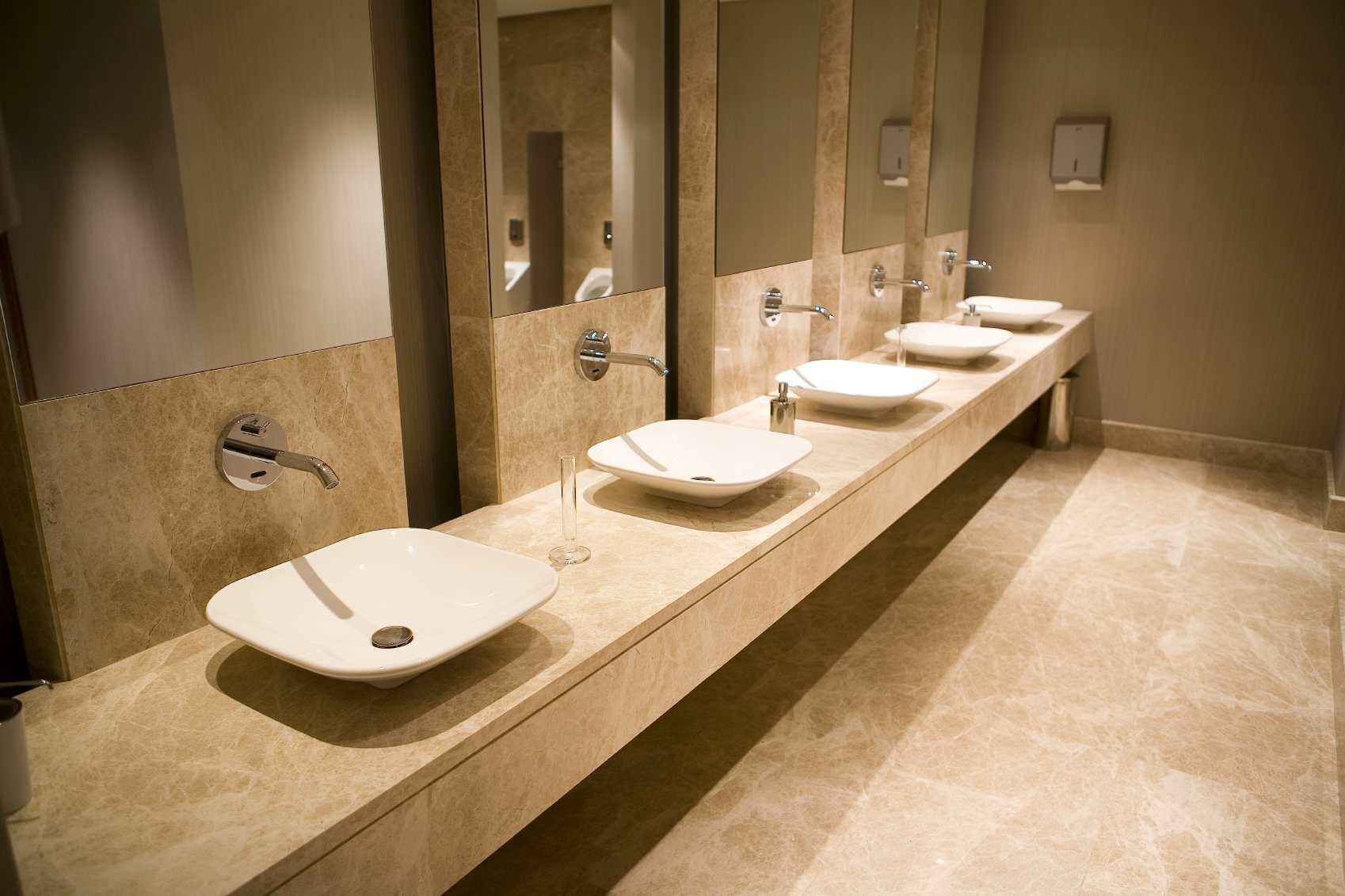 commercial-automatic-motion-faucets-public_bathroom
