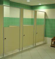 Сантехнические перегородки без дверей для детских садов (thumb56053)