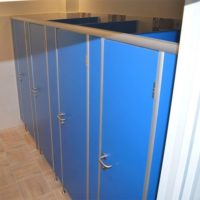 Туалетные перегородки СТАНДАРТ (25 мм), фурнитура нерж. сталь (thumb56086)