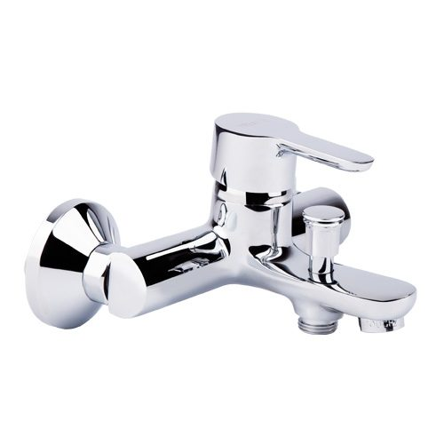 Смеситель латунный настенный для ванны Touch-Z Premium-006