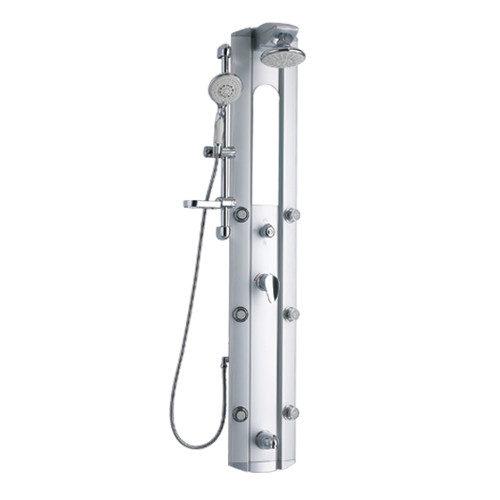 Душевая панель Q-tap QT-1101 SIL