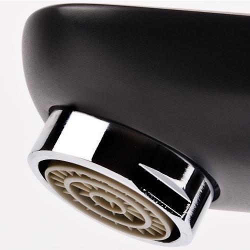 LASKA cмеситель для раковины, черный, 35 мм 05040 (35)B IMPRESE