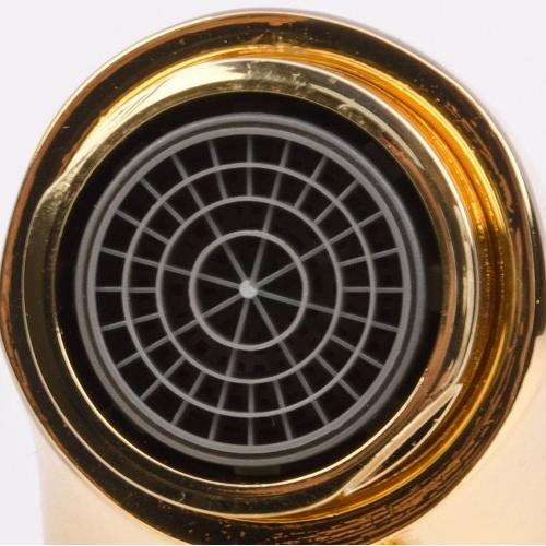 CUTHNA zlato двухвентильный смеситель для раковины, золото 05280 zlato IMPRESE