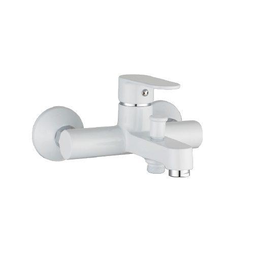 LESNA cмеситель для ванны, белый, 35 мм 10070W IMPRESE