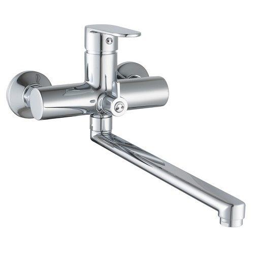 LESNA cмеситель для ванны с длинным изливом, хром, 35 мм 35070 IMPRESE