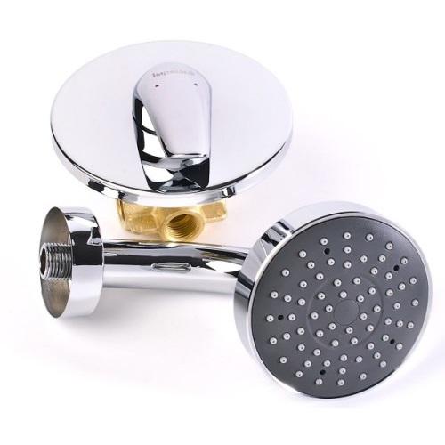 KRINICE душ верхний (диам. 100мм) + держатель VR-15110 (S) IMPRESE