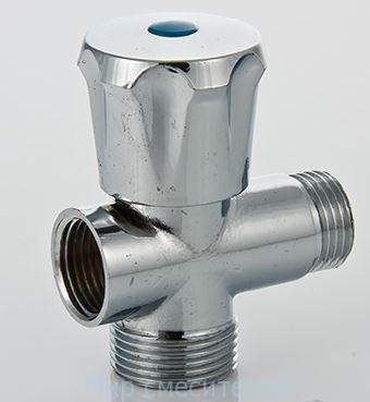 Вентиль-тройник для подкл с/т приборов1/2″х3/4″х1/2″ Valtec
