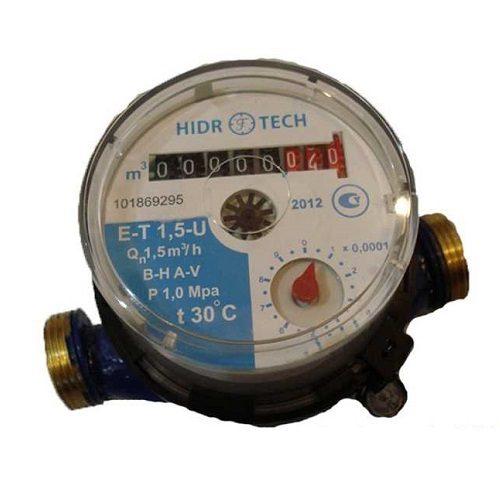 Счетчик холодной воды HidroTech 1/2″ КВ-1,5 куб