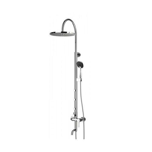 NAHORU система душевая (смеситель для ванны, верхний и ручной душ, 4 режима, шланг 1,5м) T-10500 IMPRESE