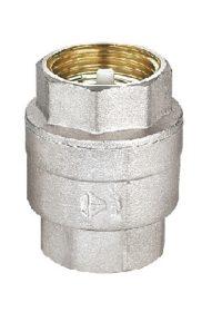 Клапан обратный в никеле SD FORTE 1/2 SD FORTE Обрат.клапан с лат.штоком 1/2 никель