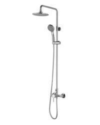 BILA SMEDA система душевая (смеситель для душа, верхний и ручной душ 3 режима, шланг 1,5м) T-15085 IMPRESE
