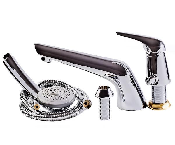 SOLNICE смеситель для ванны, врезной, на три отверстия, хром, 40 мм I85210 IMPRESE