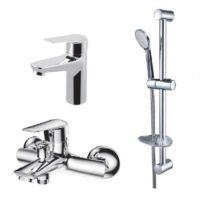 Набор смесителей для ванны VOLLE NEMO 15141100+15142100+1514610