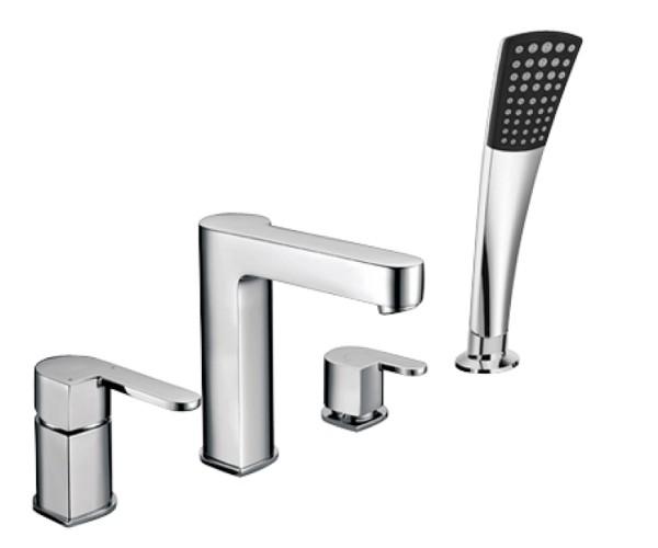Смеситель для ванны WELLE Ernest AR28218D-1303