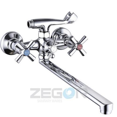 Смеситель для ванны ZEGOR (TROYA) DFR7-B722 (T61-DFR-B722)
