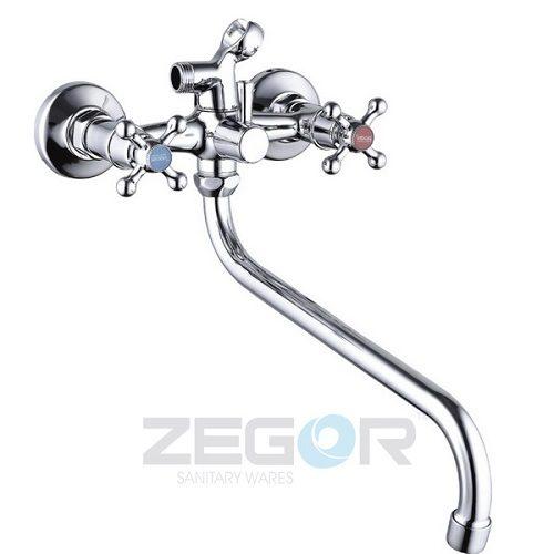 Смеситель для ванны ZEGOR (TROYA) LML7-А605 (T61-LML-A605)