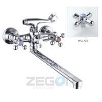 Смеситель для ванны ZEGOR (TROYA) T63-D4Q-A725