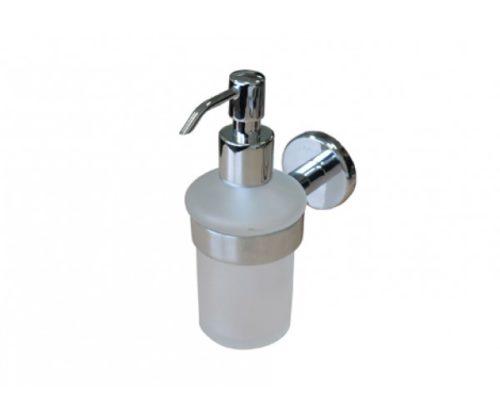 Стеклянный диспенсер для жидкого мыла с настенным держателем AM.PM Sense A7536900