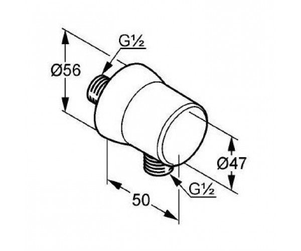 Соединение для шланга KLUDI BALANCE 5206105-00