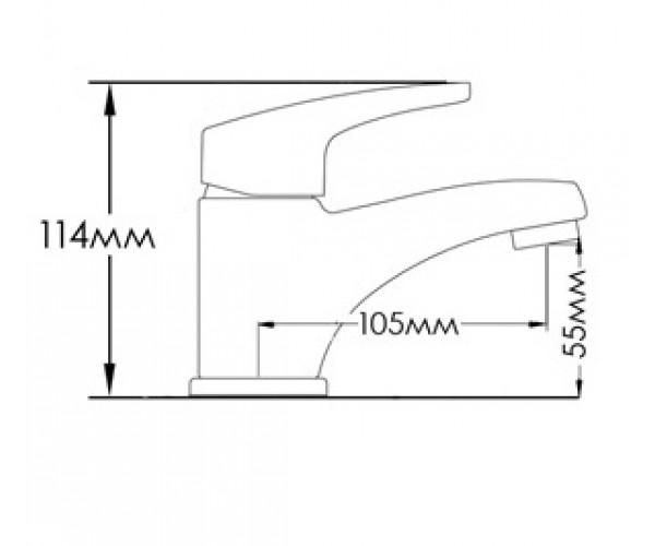 Смеситель для раковины MIXXEN ПОЛО MXAL0300