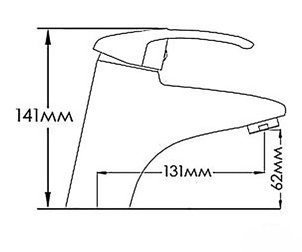 Смеситель для раковины MIXXEN ТЕНДЕНС MXAL0305