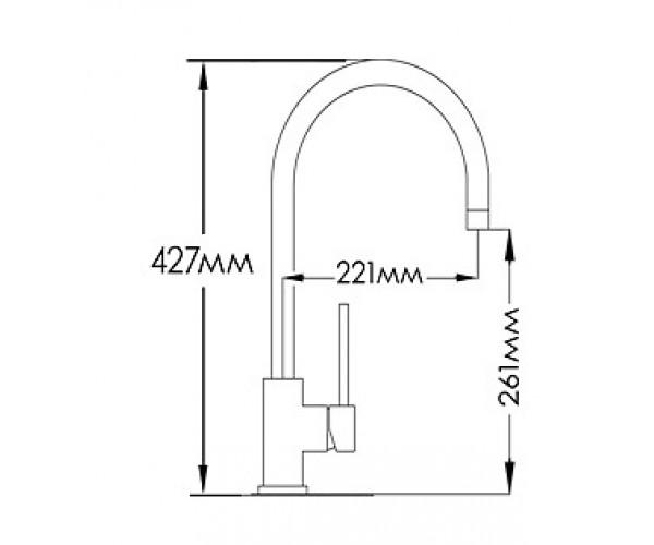 Смеситель для кухни MIXXEN ЛОЛА MXAL0316