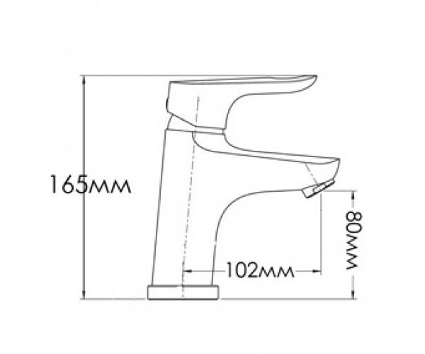 Смеситель для раковины MIXXEN ШАРМ MXAL0331