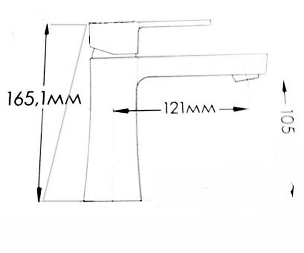 Смеситель для раковины MIXXEN ГРАНД-2 MXAL0346