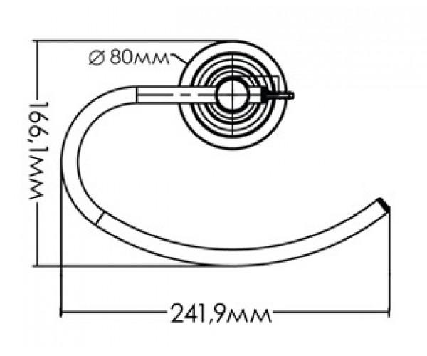 Держатель для полотенец MIXXEN MXAQ0180