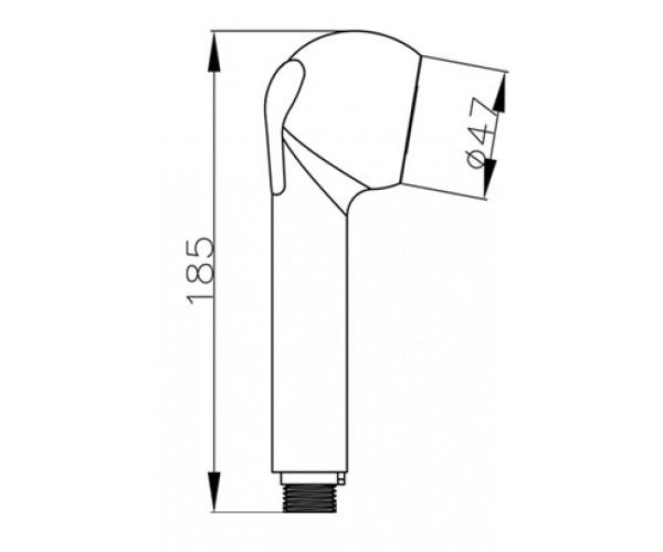 Лейка выдвижная для смесителя на кухню MIXXEN Мальта MXZ0070