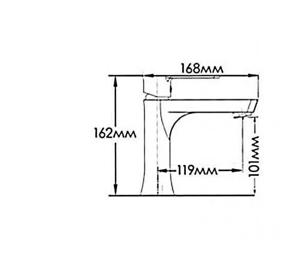Смеситель для раковины MIXXEN ЛОТУС NNH1032