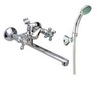 Смеситель для ванны RUBINETA CROSS C1CK06