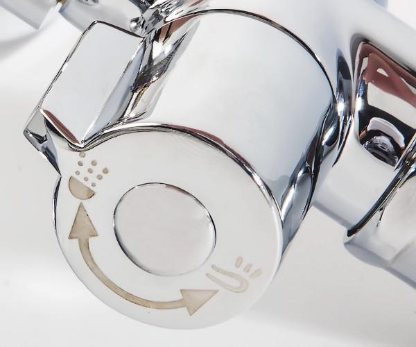 Смеситель для ванной RUBINETA PRINCE P22K01