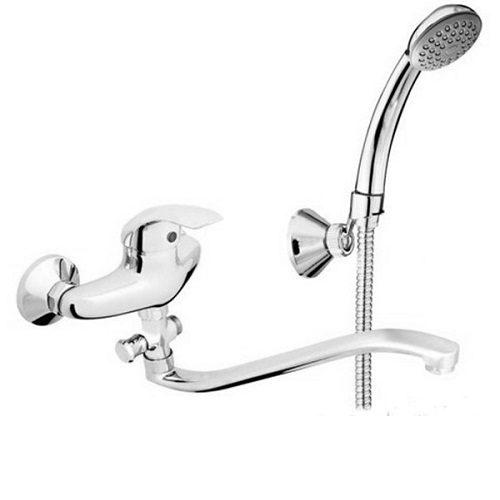 Смеситель для ванны RUBINETA PRINCE P2GK02