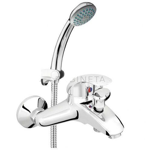 Смеситель для ванны RUBINETA TURBO T10K02
