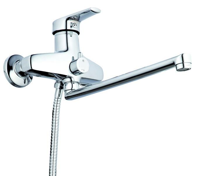 Смеситель для ванны ZEGOR (TROYA) SWZ7-A182 (Z65-NVL-A182)
