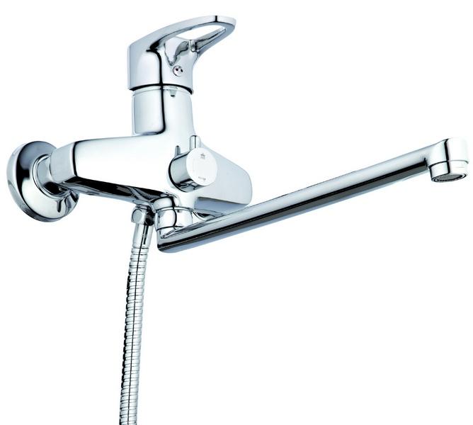 Смеситель для ванны ZEGOR (TROYA) Z65-NVL-А180