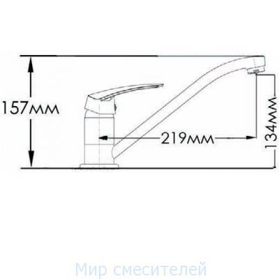 Смеситель MIXXEN «ГРАЦИЯ» кухня MXН1006NK