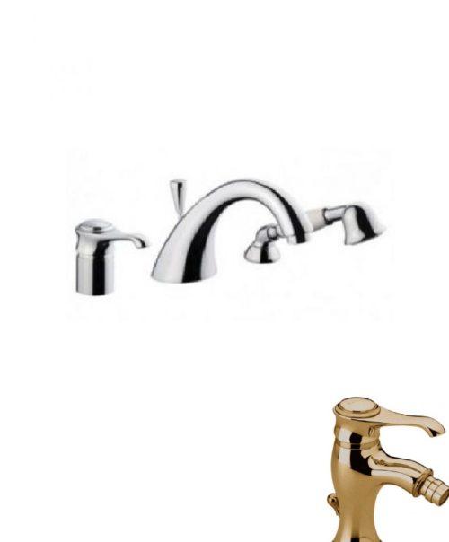 Смеситель для ванны EMMEVI TIFFANY бронза BR60120