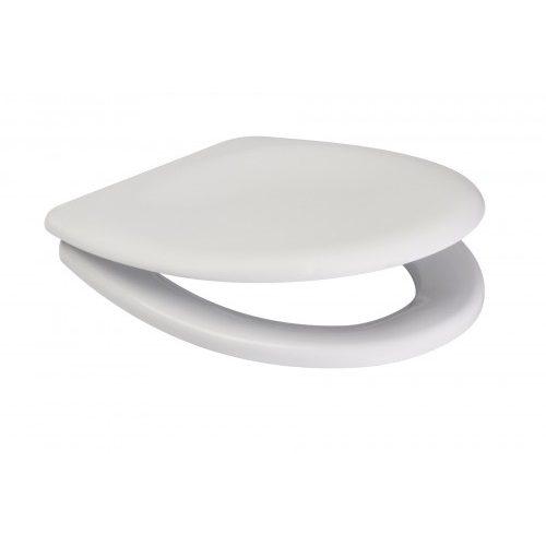 Сиденье для унитаза Cersanit Delfi дюропласт антибактер. (K98-0001)