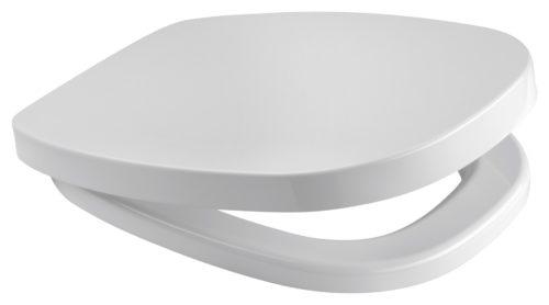 Сиденье для унитаза Cersanit Facile с крышкой дюропласт антибакт. (K98-0066)