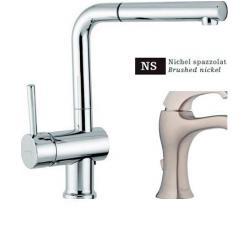 Смеситель для кухни EMMEVI PIPER никель NS45066