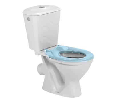 Комплект унитаз с бачком Colombo Бемби голубое сиденье (S10990050)