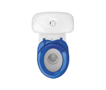 Комплект унитаз с бачком Colombo Бемби синее сиденье (S10990055)