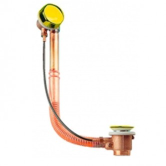 Сифон для ванны Emmevi золото CO1311L OR