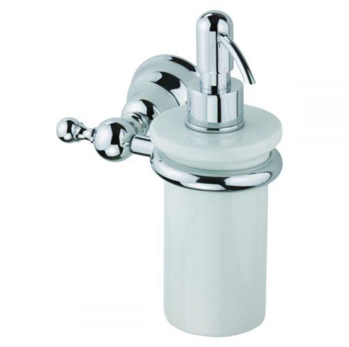 Дозатор жидкого мыла с держателем Devit Charlestone 8024142