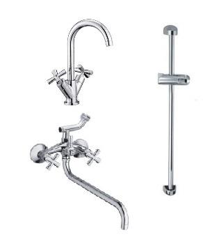 Набор смесителей для ванны Haiba Sentosa Standard