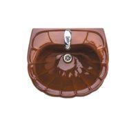 Умывальник Colombo бежево-коричневый с отверсием (S18115874)