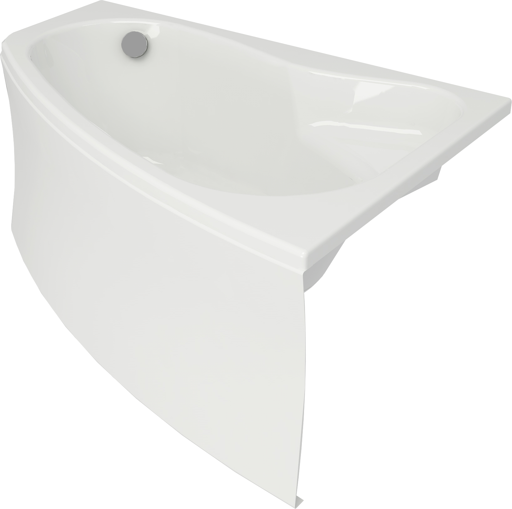 Ванна акриловая Cersanit Sicilia new правая 170 S301-098