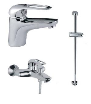 Набор смесителей для ванны Haiba Cosmos Premium